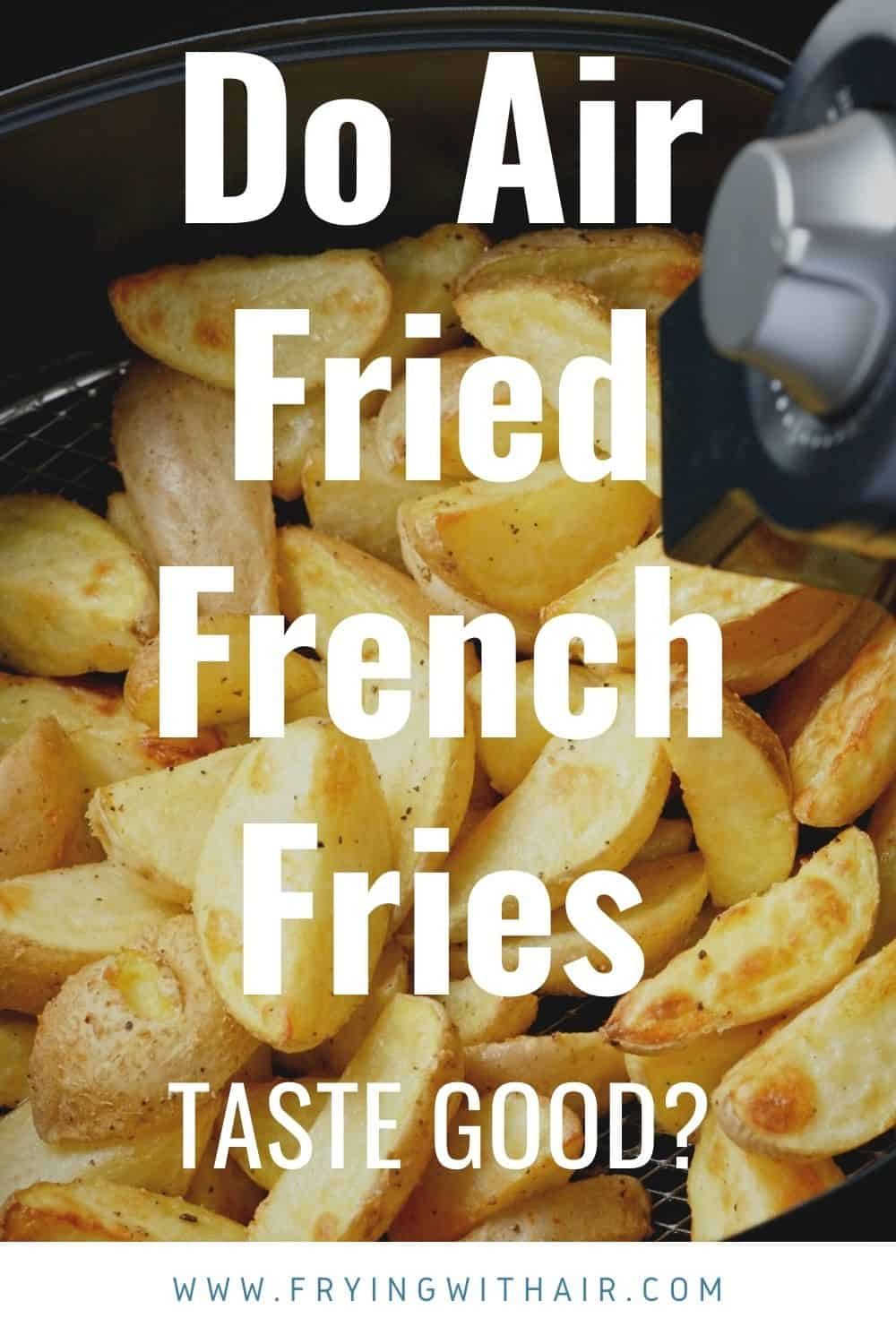 Do Air Fried French Fries Taste Good (1)