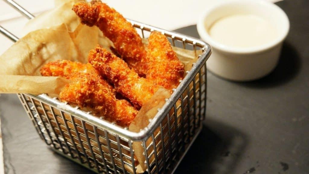 what does air fried food taste like